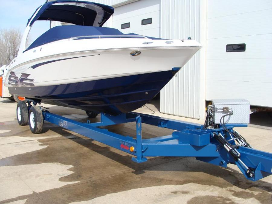 Hydraulic Lift Trailers Sales : Hydraulic trailer duralift boat hoists